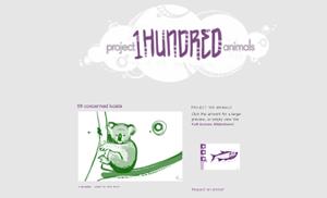 Project 100 Animals