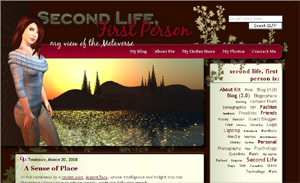 Second Life First Person