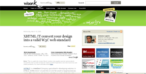 Woork Design and JavaScript